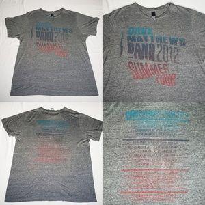 Dave Matthews Band 2012 Summer Tour Concert Music